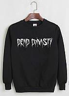 """Свитшот Dead Dynasty черный с логотипом, унисекс (мужская,женская,детская) """""""" Реплика """""""""""