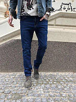 Чоловічі джинси 0646 joger батальні осінні стрейчеві 33 р Розпродаж!, фото 1