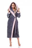 Длинный махровый халат L&L 9145