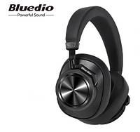 Наушники беспроводные Bluedio T6S с шумоподавлением (черные)