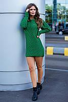 Симпатичное тёплое женское платье, фото 1