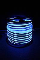 Уличный световой шнур Lumion 220V SUPER SMD NEON FLEX 8*16мм, 92 светодиода/м.п., 50м/ рул цвет синий