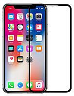 Защитное стекло Full Glue iPhone XR Black 6D