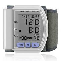 Цифровой тонометр на запястье SmartTec Blood Pressure Monitor CK-102 / аппарат для измерения давления и пульса