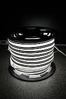 Уличный световой шнур Lumion 220V SUPER SMD NEON FLEX 8*16мм, 92 светодиода/м.п., 50м/ рул цвет белый холодный