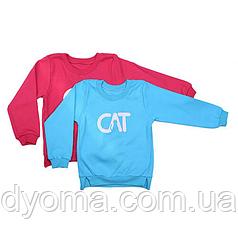 """Детская толстовка """"Cat"""" для мальчиков и девочек"""