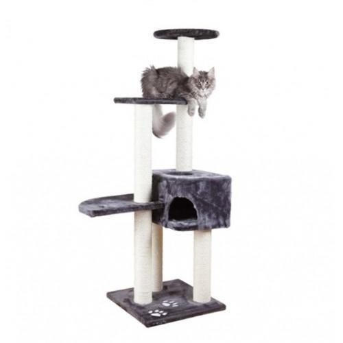Игровой комплекс для котов Alicante с домиком для кошки и когтеточкой