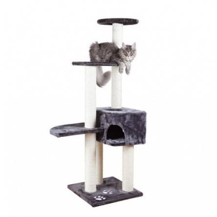 Игровой комплекс для котов Alicante с домиком для кошки и когтеточкой, фото 2