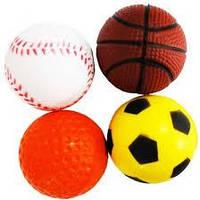 Спортивні іграшки (Мячі футбольні,волейбольні,баскетбольні,резинові,фітнес мячі))