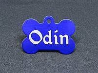 Адресник для собак (Жетон медальйон, заготовки для гравіювання), фото 9