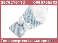 Конверт-одеяло для новорожденного ребенка для выписки из роддома бязь Осень