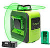 GREEN ⇒ Лазерный уровень Huepar 2D green HP-602CG ⇒Li-ion+КРОНШТЕЙН