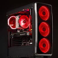 Системный блок HELLCAT PRO (AMD Ryzen 3 1200 3.2GHz/GeForce GTX 1050, 2GB/8GB DDR4/500Gb HDD/БП 500W)