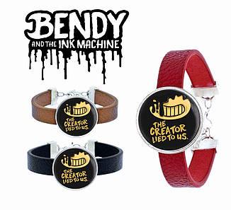 "Браслет Бенди и Чернильная Машина ""the creator lied to us""  Bendy and the Ink Machine"