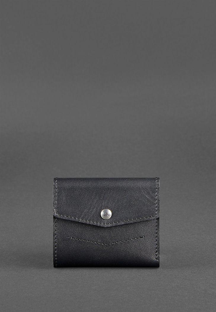 """Кошелек женский компактный кожаный с карманом для монет """"Мини"""""""