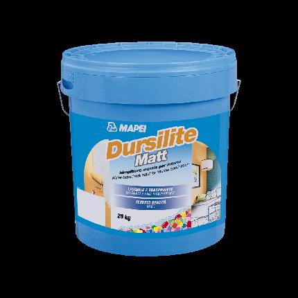 Фарба водно-дисперсійна, що миється Mapei Dursilite Matt 20 кг, фото 2
