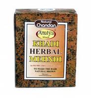 Краска для волос, цвет коричневый, 100 г, Кхади; Khadi Herbal Mehendi Natural Brown