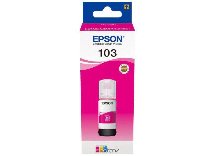 Чорнило Epson 103 (L3100/3101/3110/3150/3151) Magenta 65мл