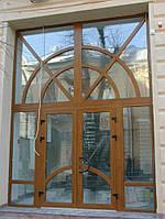Двери металлопласиковые Rehau, фото 1