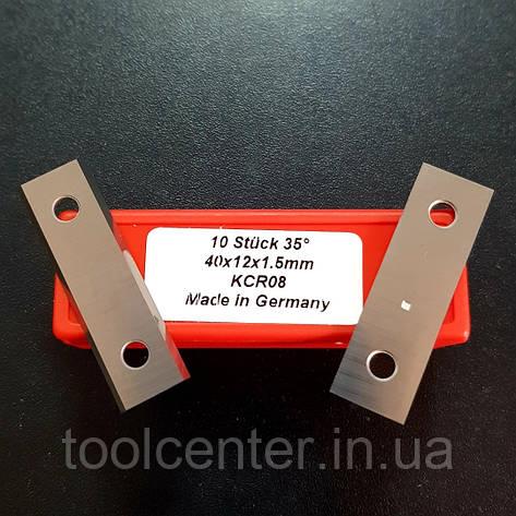 Нож поворотный HW: 40x12x1,5mm KCR08, фото 2