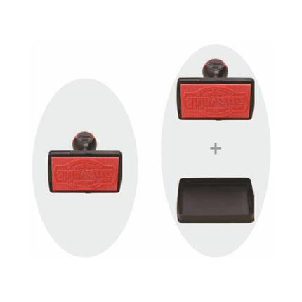 Оснастка Shiny DUO M-6090 ручная для штампа 60х90 мм, фото 2