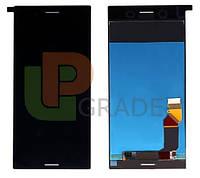 Дисплей для Sony G8141 Xperia XZ Premium/G8142 + тачскрин, черный, Deepsea Black