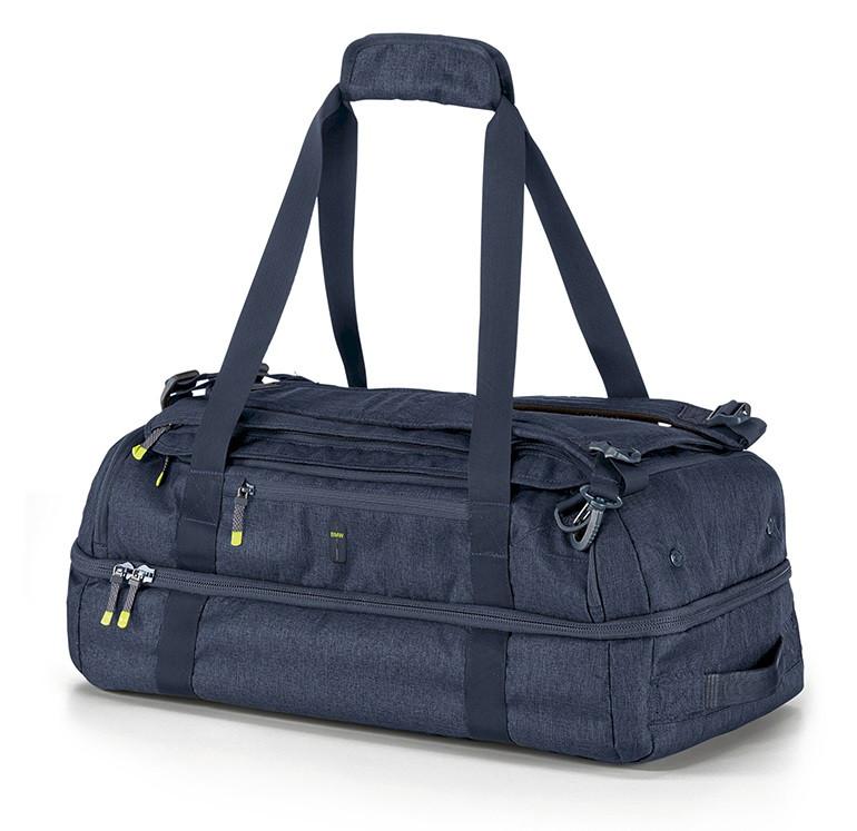 Оригінальна спортивна сумка BMW Active Sports Bag, Blue Nights / Wild Lime, артикул 80222461029