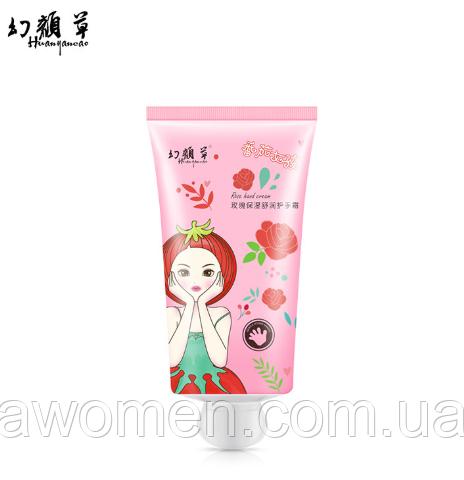 Крем для рук Hanhuo Rose с маслом розы 50 g