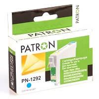 Картридж струйный PATRON CI-EPS-T1292-C-PN Cyan