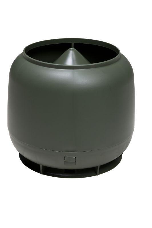 Колпак-дефлектор Vilpe 110 для труб диаметром 110мм Зеленый