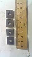 Пластина твердосплавная сменная квадрат 16х16мм. Марка сплава КТН 16