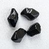 Декоративные камни FIRE GLASS — черный хрусталь