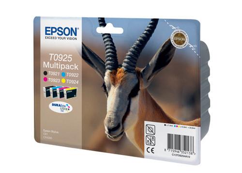 Картридж струйный Epson C13T09254A10 C, M, Y, Bk - Модный Магазин в Хмельницком
