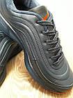 Кроссовки Bonote тёмно-синие кожзам осень/весна р.50, фото 2