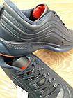 Кроссовки Bonote тёмно-синие кожзам осень/весна р.50, фото 3