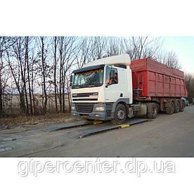 Весы автомобильные подкладные Axis 15-П-Д (4 датчика) длина весов 5500 мм