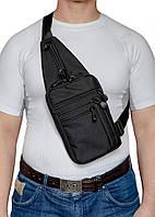 A-line Плечевая сумка с кобурой А33, черная синтетическая, фото 1