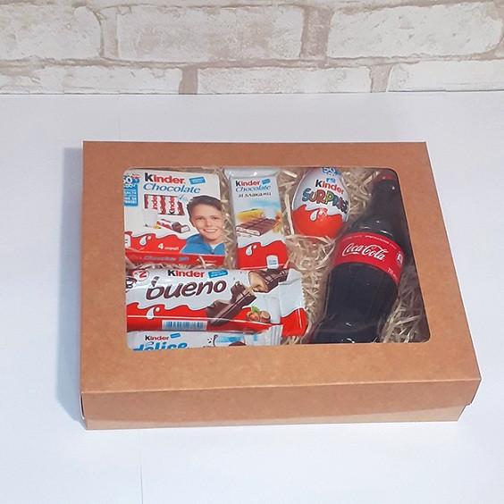 Подарочный набор Kinder&coca-cola