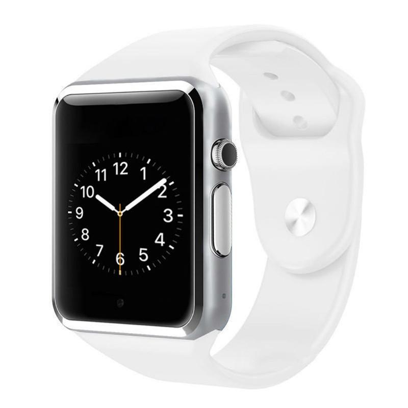 Умные Часы Smart Watch А1 white (англ. версия) + Наушники подарок