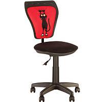 Дитяче комп'ютерне крісло MINISTYLE (МИНИСТАЙЛ) GTS RED CAT, фото 1