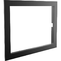 Рамка стальная DECO O/W, фото 1