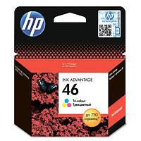 Картридж струйный HP CZ638AE (№46) Tri-color
