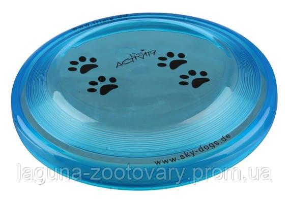 Игрушка диск-фрисби для собак 23см