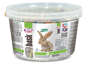 Полнорационный корм LoloPets для кроликов, 2 кг