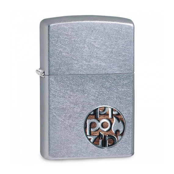 Зажигалка Zippo Button Logo, 29872