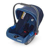 Детское автокресло-переноска Бебикокон для новорожденного Синий 0+ (ME 1009-2)