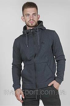 Мужская спортивная кофта Freever (8406) Серый, S