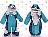 Демисезонная комбинезон - конверт для малышей от рождения