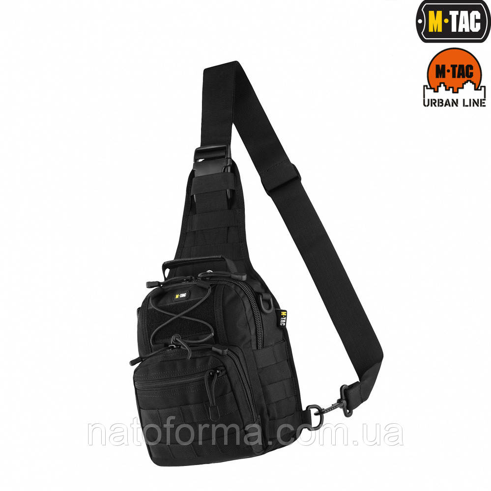 Сумка однолямочная M-Tac, Urban Line, City Patrol Fastex Bag, Black