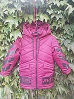"""Куртка на мальчика """"OFF WHITE"""", фото 1"""